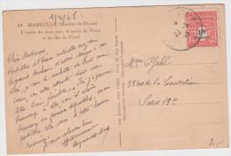 Arc Triomphe 1f50 Marseille Vieux Port Texte Attente Retour De Déportation - 1944-45 Triumphbogen