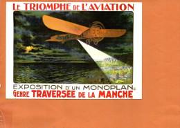 Avion : Le Triomphe De L´aviation -exposition D´un Monoplan - Avions
