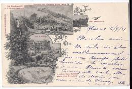 ELM: 5-Bild-AK Mit Kurhaus 1901 - GL Glaris