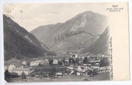 MATT: Mit Aussicht Gegen Engi, Gufelstock 1912 - GL Glaris