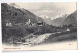 ELM: Dorf Mit Dorfbach ~1910 - GL Glaris