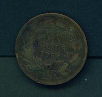PORTUGAL  -  1884  20r  Circulated Coin - Portugal