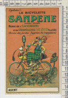 La Bicyclette SANPENE - Riproduzione Cartolina Pubblicitaria - Publicité
