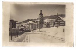 BÜHLER: Eisenbahn Im Winter, Echt-Foto-AK 1932 - AR Appenzell Rhodes-Extérieures