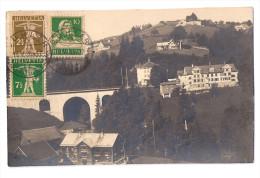 TEUFEN - BÜHLER: Aussenquartier, Foto-AK 1928 - AR Appenzell Rhodes-Extérieures