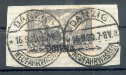 Danzig 13a Echt Gest. Luxusbriefstück BPP (E8357 - Danzig