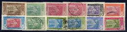 IVORY COAST 1915-34  Surcharges, Used.  Yv. 58, 59, 75, 77-78 X 2, 107 - Ivory Coast (1892-1944)