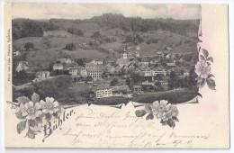 BÜHLER: Dorf Mit Blumenornamenten 1905 - AR Appenzell Rhodes-Extérieures