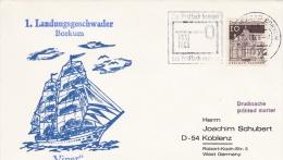 Ship Cover: German Navy Viper, Borkum From 1. Landungsgeschwader P/m Borkum 1968 (G62-26) - Bateaux