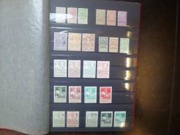 BELGIQUE 1893-1955 TRES BELLE COLLECTION NEUVE X-XX. NOMBREUSES SERIES BONNES COTES !!! (C542)