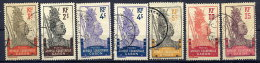 GABON 1910-18 1c - 15c Used.  Yv. 49-54 - Used Stamps