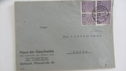 OPD: Fern-Brief Mit 6 Pfg Freimk-Ausgabe Der OPD Halle, MeF Aus Delitzsch Nach Zeitz Vom 13.3.46 Knr: 69 (4) - Sowjetische Zone (SBZ)