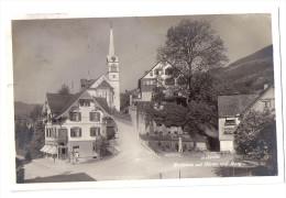 REBSTEIN: Dorfpassage Mit Wäsche-Geschäft ~1925 - SG St. Gall