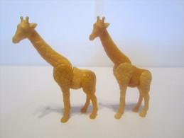 Vieux Montable - Girafe Avec Variante - Montables