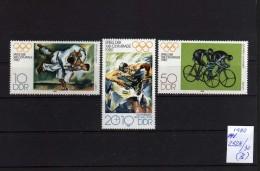 1980 - DDR - Rusia - JJOO De Moscu 80 - MNH - Verano 1980: Moscu