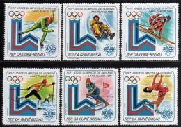 1980 - Guinea Bissau - JJOO De Lake Placid - Serie - MNH - Verano 1980: Moscu