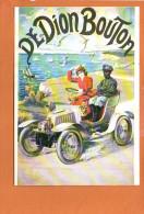 Publicité - DE DION BOUTON - éditions F.NUGERON - Automobiles - Cartes Postales