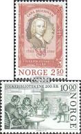 Norwegen 934-935 (kompl.Ausg.) Postfrisch 1985 Volksbibliothek - Norwegen
