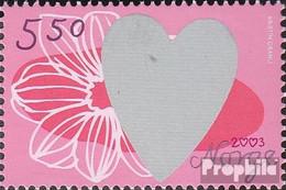 Norwegen 1462 (kompl.Ausg.) Postfrisch 2003 Valentinstag - Norwegen