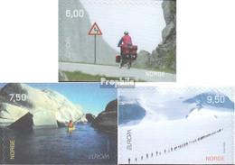 Norwegen 1497Du-1499Du (kompl.Ausg.) Postfrisch 2004 Europa: Ferien - Norwegen