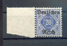 DR-Dienst 55Y RANDSTÜCKE**POSTFRISCH 20EUR (73348 - Dienstzegels