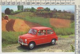 AUTO AUTOS CARS VOITURES FIAT 600 D  RIPRODUZIONE - Turismo