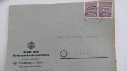 OPD: Fern-Brief Mit 6 Pfg MeF Freimk-Ausgabe Prov.Sachsen Aus Nienburg Vom 11.11.45  Knr: 69 (2) - Sowjetische Zone (SBZ)