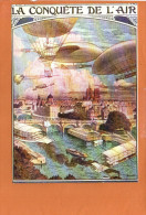 Publicité - La Conquête De L'air Montgolfière Nos Transports - éditions F.NUGERON - Montgolfières