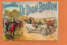 Publicité - Automobiles De DION BOUTON -Nos Vieilles Affiches - éditions F.NUGERON - Cartes Postales