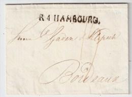 """Hamburg , 1810 """" R 4 - HAMBOURG """", Luxus!, #4931 - Hamburg"""