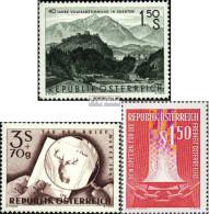 Österreich 1082,1083,1084 (kompl.Ausg.) Postfrisch 1960 Sondermarken - 1945-60 Ungebraucht