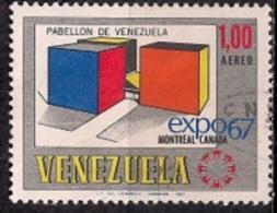 B314 - Venezuela 1967 - World Fair EXPO '67 - Montreal, Canada   Used - Venezuela