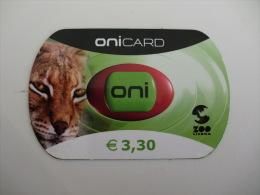 Phonecard/Telecarte Onicard Zoo Lisboa Portugal - Télécartes