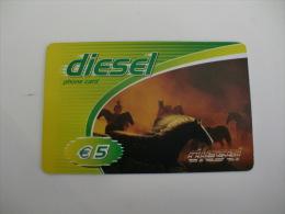 Phonecard/ Telécarte/ Cartão Telefónico Diesel 5 Euros - Portugal