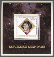 RWANDA 1973 - 500e Ann De La Naissance De Nicolas Copernic - BF Neuf // Mnh - Rwanda