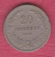 F5117 / - 20 Stotinki - 1906 - Bulgaria Bulgarie Bulgarien Bulgarije - Coins Monnaies Munzen - Bulgaria