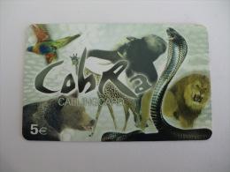 Phonecard/ Telécarte/ Cartão Telefónico Cobra Nº 2 - 5 Euros - Portugal