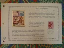 Feuillet Ceres Monaco N° 107 Albert Schweitzer - Albert Schweitzer