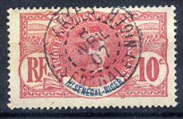 UPPER SENEGAl & NIGER 1906 10 C. Used With Kayes Postmark.  Yv. 5 - Upper Senegal And Nigeria (1904-1921)