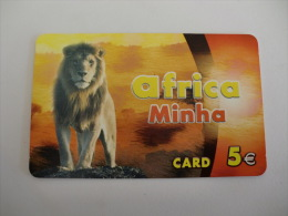 Phonecard/ Telécarte/ Cartão Telefónico Africa Minha Nº 1 -  5 Euros - Portugal