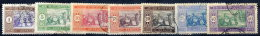 SENEGAL 1914-17 Definitives, 7 Stamps From The Series, Used.  Yv. 53, 56-60, 63 - Senegal (1887-1944)