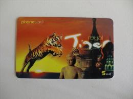 Phonecard/ Telécarte/ Cartão Telefónico Royal Tiger  - 5 Euros - Portugal