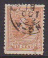 Nederland 1872 NPVH Nr. 23E  T 11 1/2 : 12    Used   Stempel  19-oct-1882 - Gebruikt