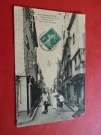 61 ARGENTAN 241  Cadran Lerot  Rue Saint Germain Dans L Etat  Angle Bas Droit   Circulee 1913  Edit ELD    Orne - Argentan
