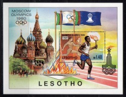 1980 - Lesotho - JJOO De Moscu - HB - MNH - Verano 1980: Moscu