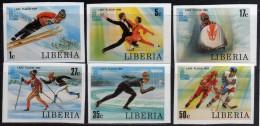 1980 - Liberia - JJOO De Lake Placid - Serie - Sin Dentar - MNH - Verano 1980: Moscu