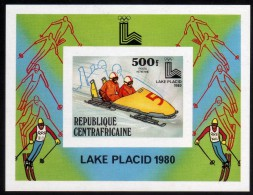 1980 - R. Centroafricana - JJOO. De Lake Placid - HB - S-d - MNH - Verano 1980: Moscu