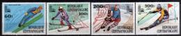 1980 - R. Centroafricana - JJOO. De Lake Placid - Serie - MNH - Verano 1980: Moscu