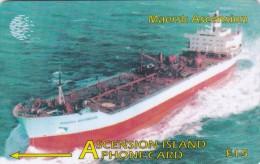 Ascension, 268CASB, Maersk Ascension, Ship, 2 Scans. - Ascension