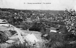 CPA ROSNY SOUS BOIS - VUE GENERALE - Rosny Sous Bois